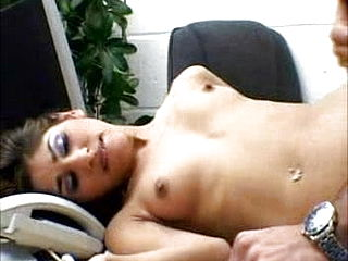 Brit Indian damsel romp in office