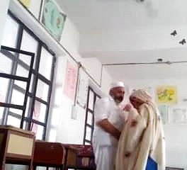 Desi principal screw instructor in class apartment MMS paki elderly humungous