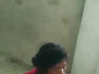 Indian tearing up a homeless dolls in an deprived house
