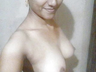 Indian wifey unveiling bare