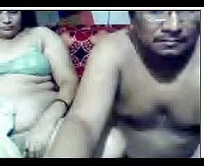 Mature indian duo on highly elder cam recording
