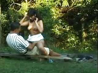 Amateur - Molten Indian Duo in Forest - Superb CIM Facial