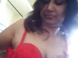 Aunty Indian Large knockers