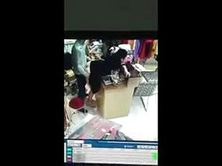 Indian Uncle At Shop Hidden Camera