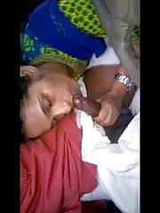 Maids daughter in law suckiing possessor in car