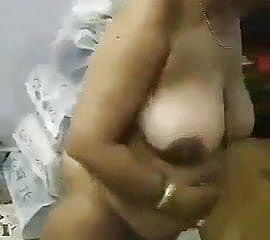 Indian aunty boinked by youthful man